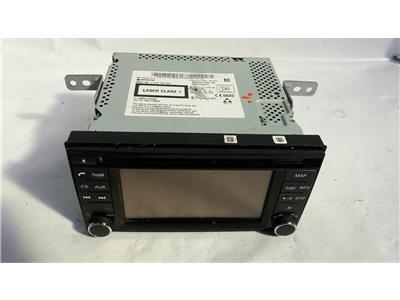 2014 Nissan Note 2013 On HR12DE Satellite Navigation CD Unit 259153HN1A