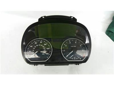 2009 BMW 1 Series E81 2009 To 2011 Manual Petrol Speedo Head 9220942