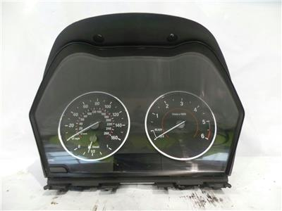2013 BMW 1 Series F21 2011 To 2015 Automatic Diesel Speedo Head 2360050