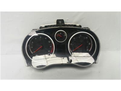2013 Vauxhall Corsa D 2011 To 2014 Manual Petrol Speedo Head P0013373017