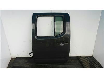 2005 Nissan Navara D40 2005 To 2010 GREY N/S Passengers Rear Back Door LH