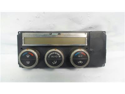 2005 Nissan Navara D40 2005 To 2010 Heater Control Assembly