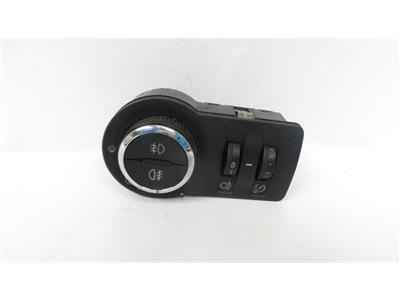 2010 Vauxhall Astra J MK6 2010 To 2015 Headlamp Headlight Switch