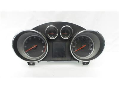 2014 Vauxhall Astra 2010 To 2015 Manual Petrol Speedo Head 600775881