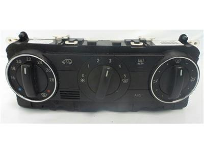 2008 Mercedes-Benz B Class W245 2008 To 2011 Heater Control Assembly A1698301985