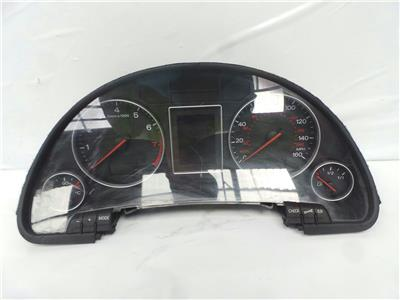 2001 Audi A4 2001 To 2005 4 Door Saloon Manual Petrol Speedo Head 8E0920950G
