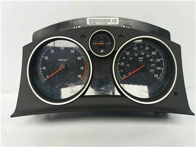 2014 Vauxhall Zafira 2011 On M.P.V. Manual Petrol Speedo Head