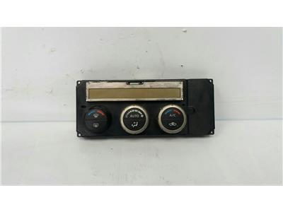 2006 Nissan Navara 2005 To 2010 Pick-Up Heater Control Assembly