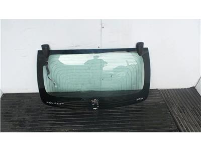 2009 Peugeot 107 2009 To 2011 3 Door Hatchback BLACK Tailgate