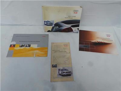 2002 Audi TT 8N3 1999 To 2006 2 Door Coupe 1.8 Petrol BAM Book Pack