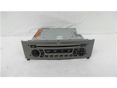 2007 Peugeot 308 2008 To 2010 5 Door Hatchback Radio CD Player