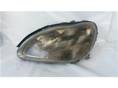 2000 Mercedes-Benz S Class 1999 To 2005 S320 3.2l Automatic Petrol SILVER Car Headlamp LH