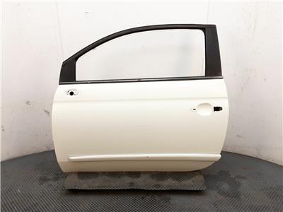 2008 Fiat 500 2008 To 2015 3 Door Hatchback WHITE  N/S Passengers Front Door LH