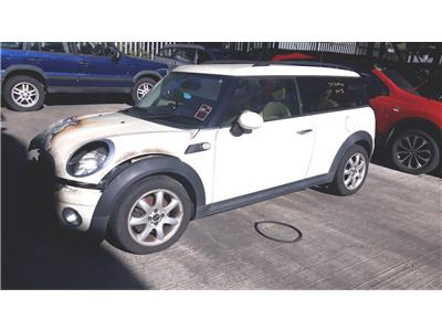 2009 Mini Clubman 2007 To 2015 Cooper D 16l Manual Diesel Blue Car