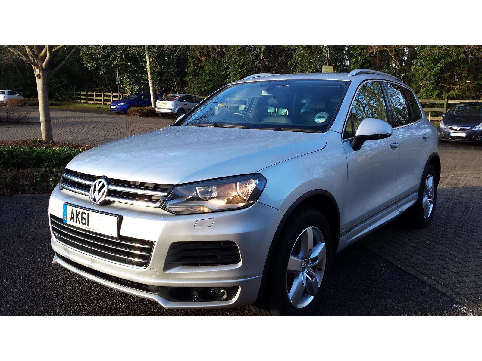 Volkswagen Touareg 2010 To 2014 Altitude 242 BlueMotion Techno 5 Door 4x4