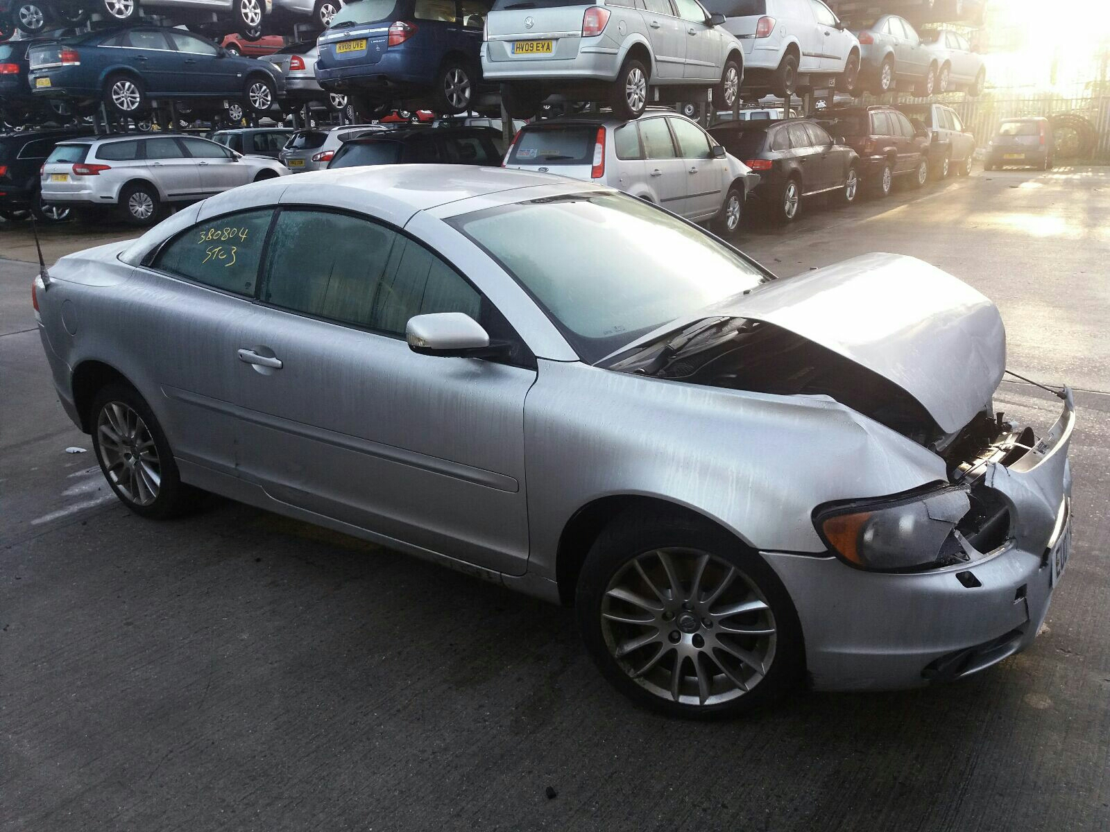 Volvo C70 2006 To 2009 SE 2 Door Cabriolet / scrap / salvage car for sale /  auction | Silverlake Autoparts