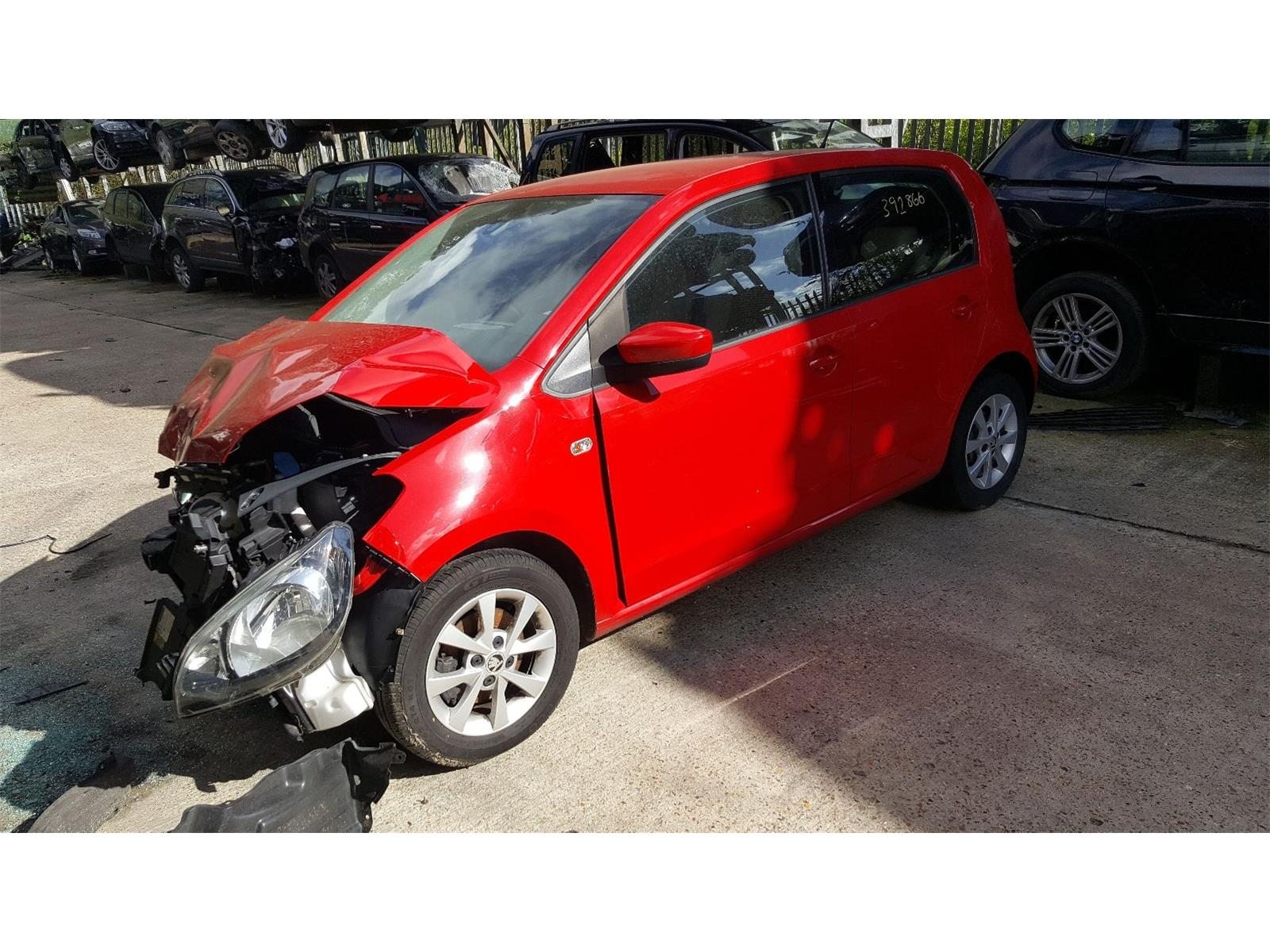 Skoda Citigo 2012 To 2017 Elegance Greentech 5 Door Hatchback / scrap /  salvage car for sale / auction | Silverlake Autoparts