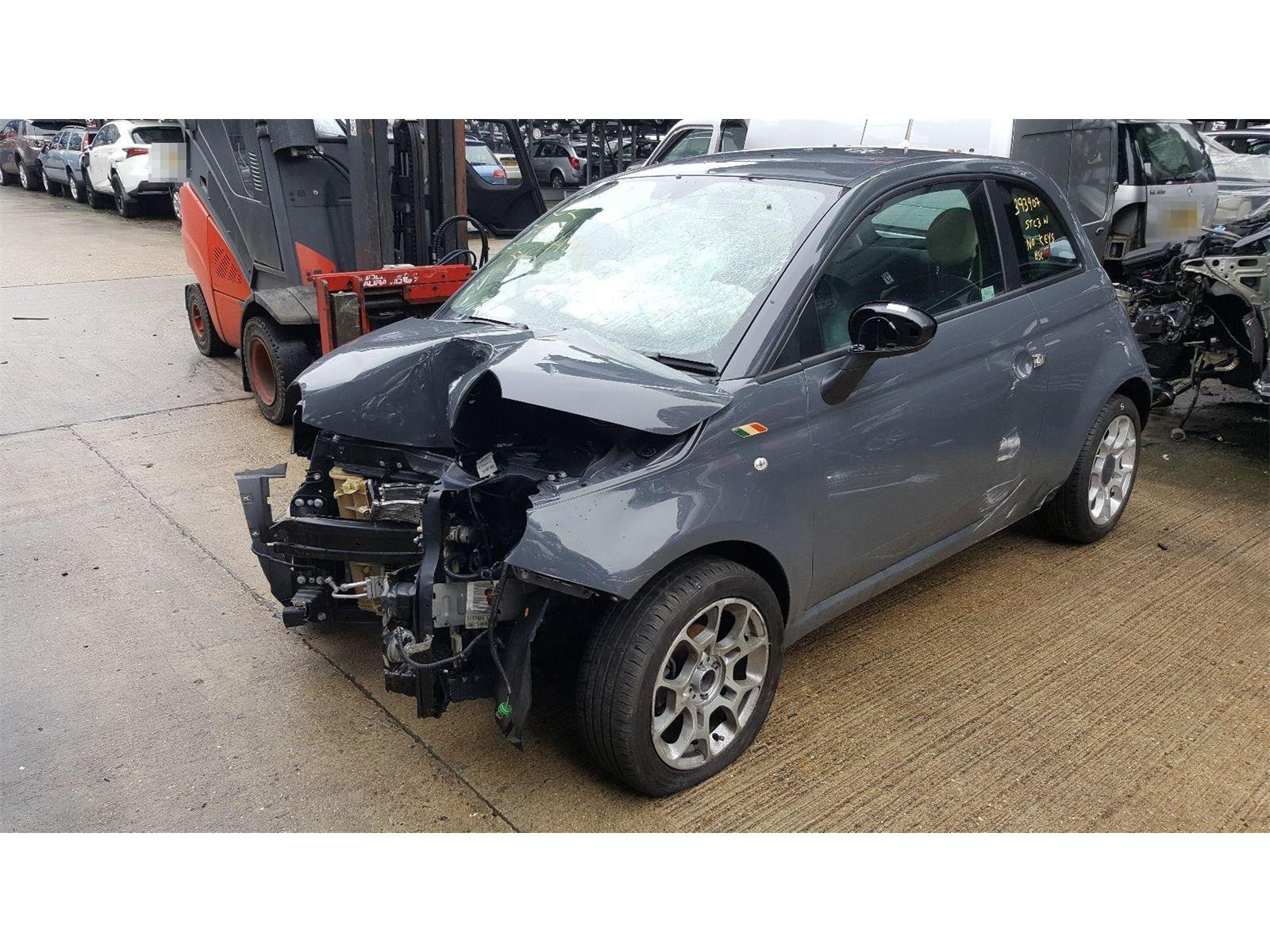 Fiat 500 2008 To 2015 Colour Therapy 3 Door Hatchback / scrap / salvage car  for sale / auction | Silverlake Autoparts