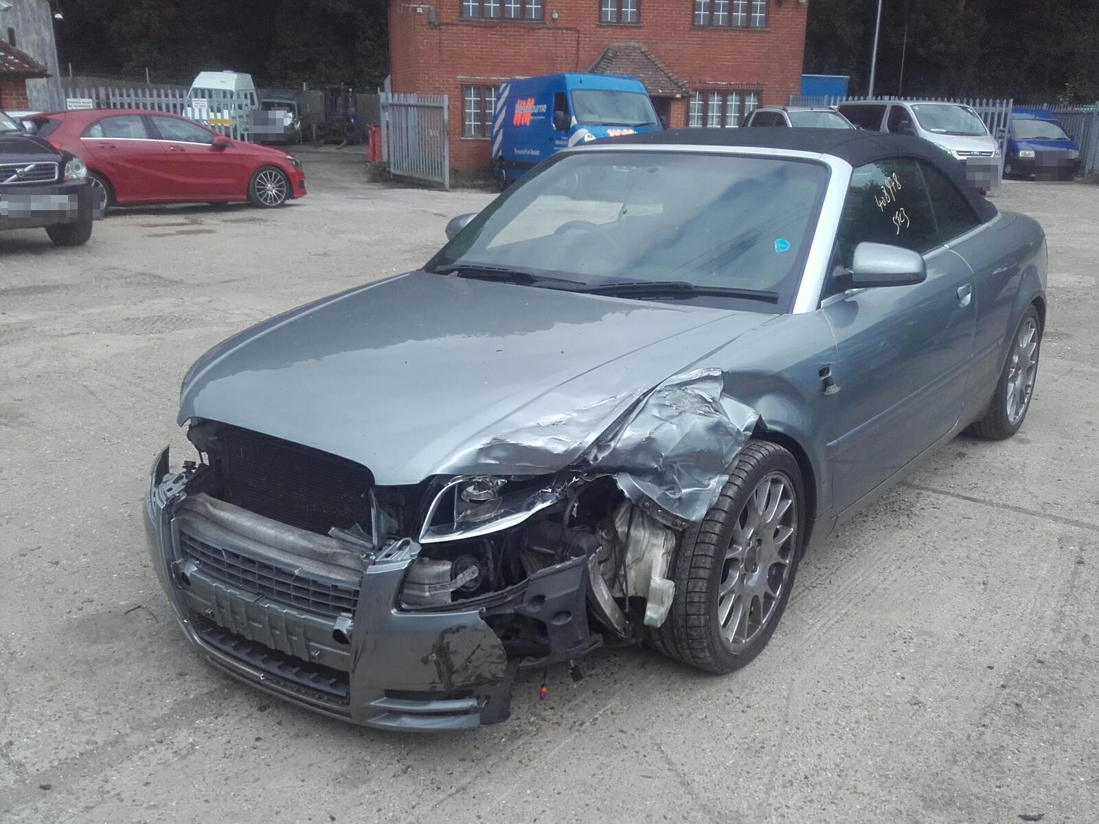 Audi A4 2005 To 2008 S Line Tdi 2 Door Cabriolet Scrap Salvage 3 0 Fuse Box