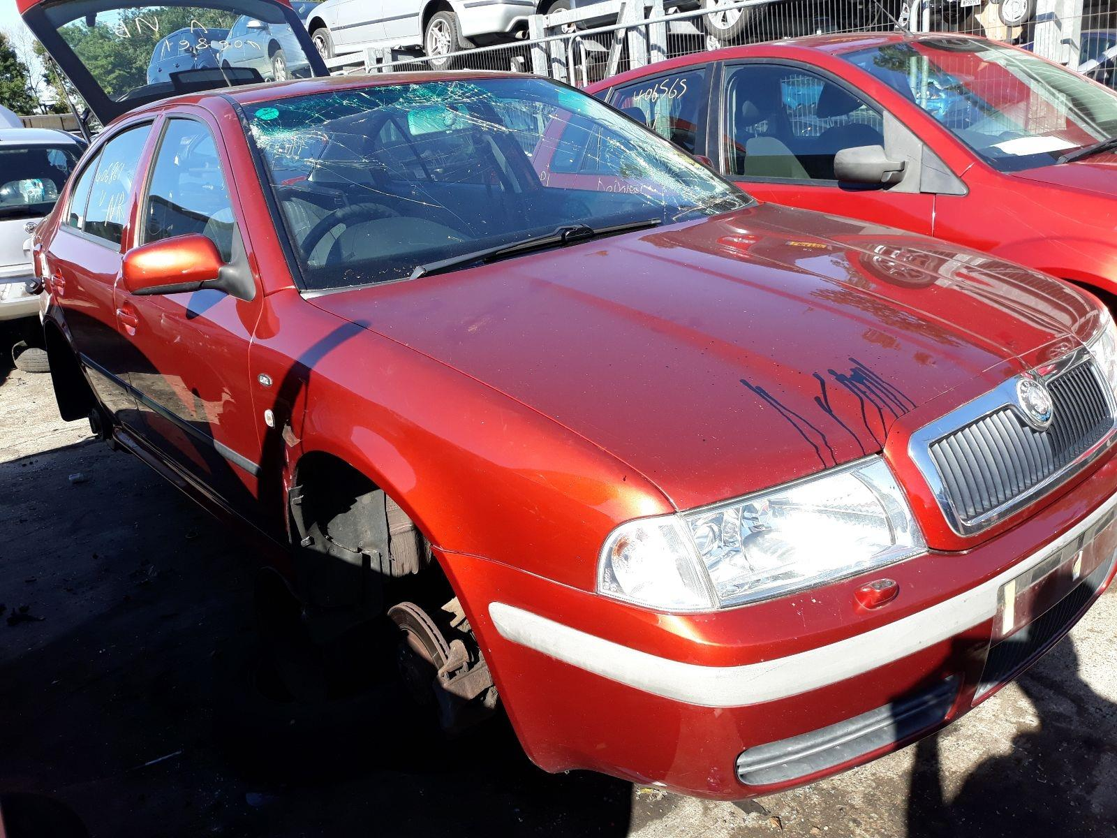Skoda Octavia 2000 To 2005 Elegance 5 Door Hatchback Scrap Fuse Box 2006 Salvage Car For Sale Auction Silverlake Autoparts