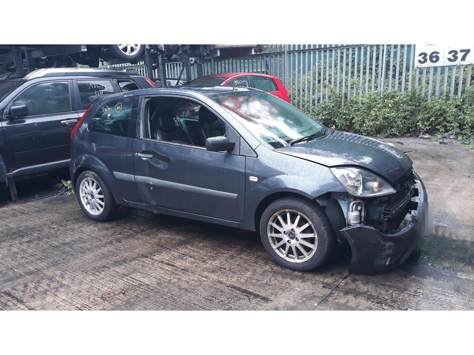 Ford fiesta 2002 to 2008 zetec s tdci 3 door hatchback scrap salvage car for sale auction silverlake autoparts