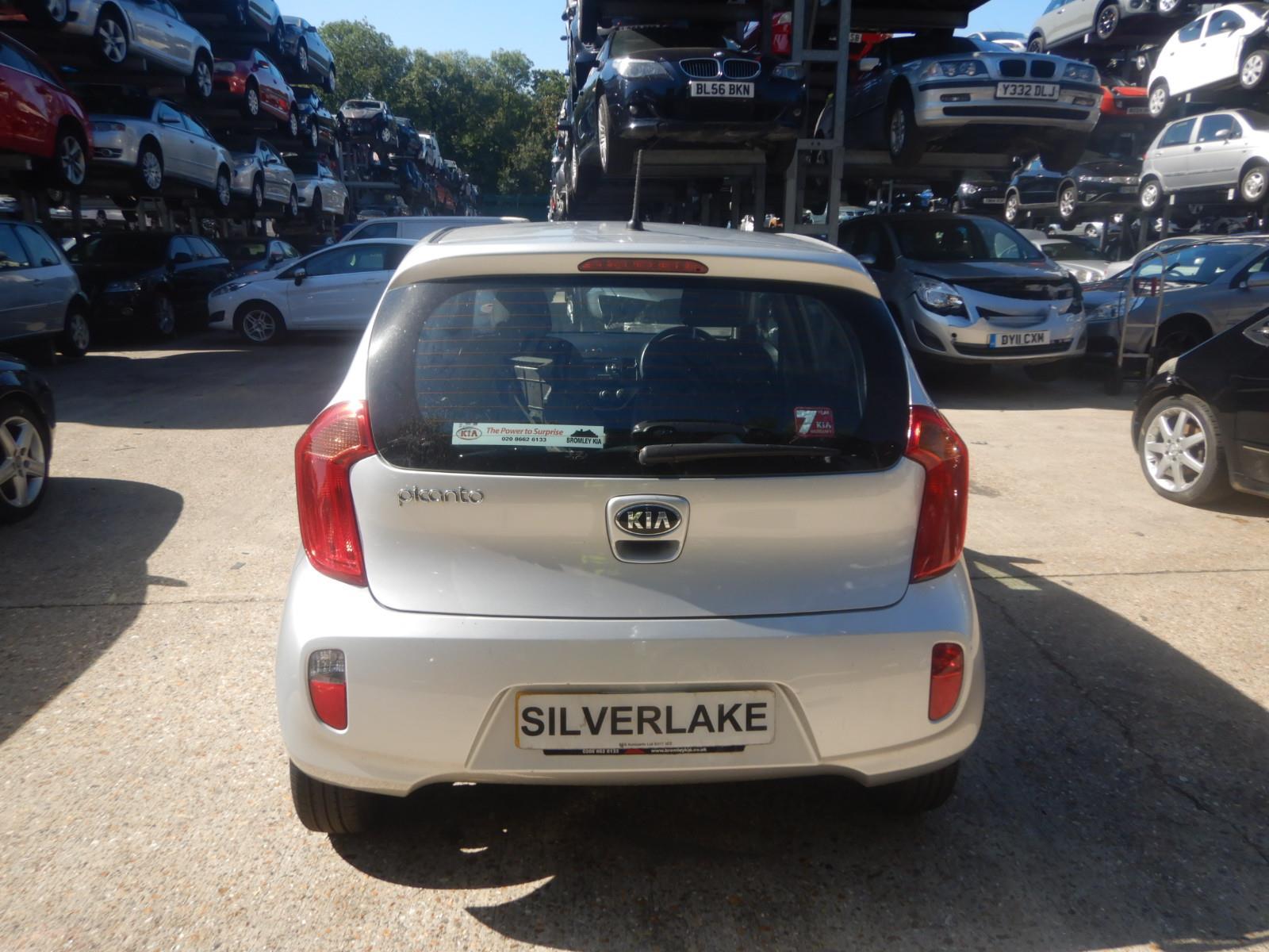 Kia Picanto 2011 To 2015 2 5 Door Hatchback Scrap Salvage Car Mentor Fuse Box For Sale Auction Silverlake Autoparts