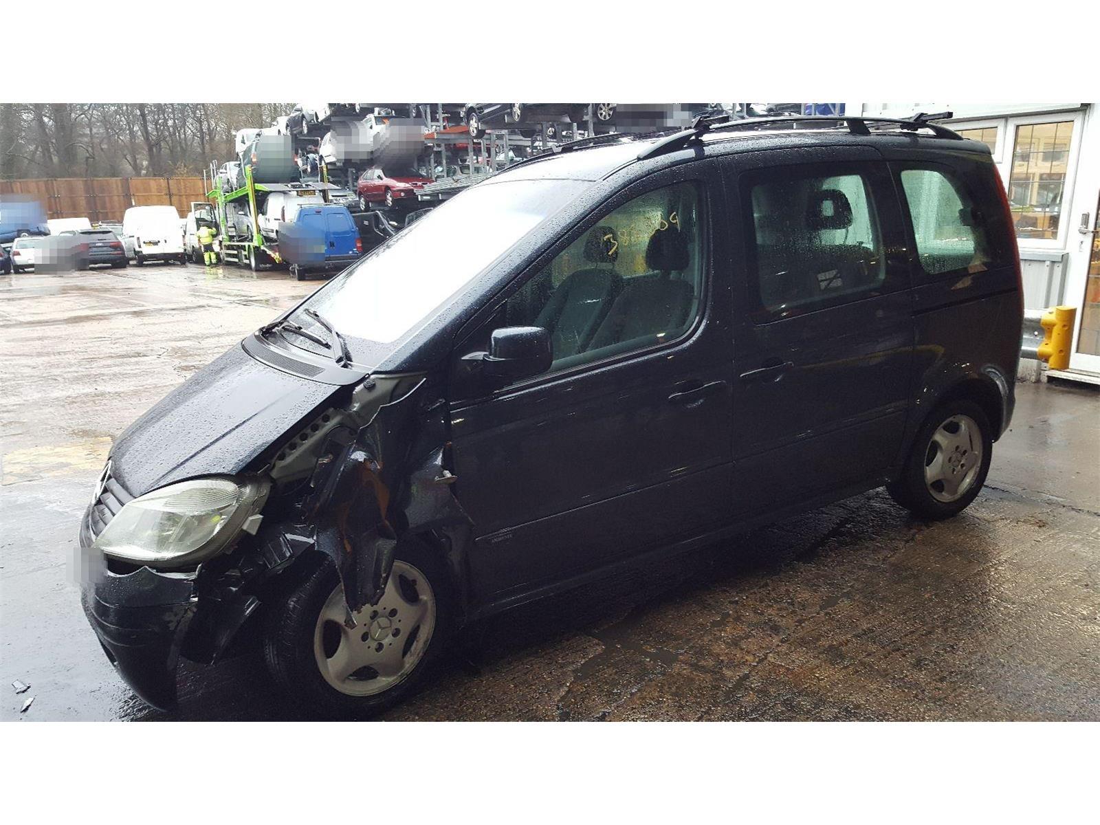 Mercedes-Benz Vaneo 2002 To 2005 Ambiente CDi Mirror Rear View