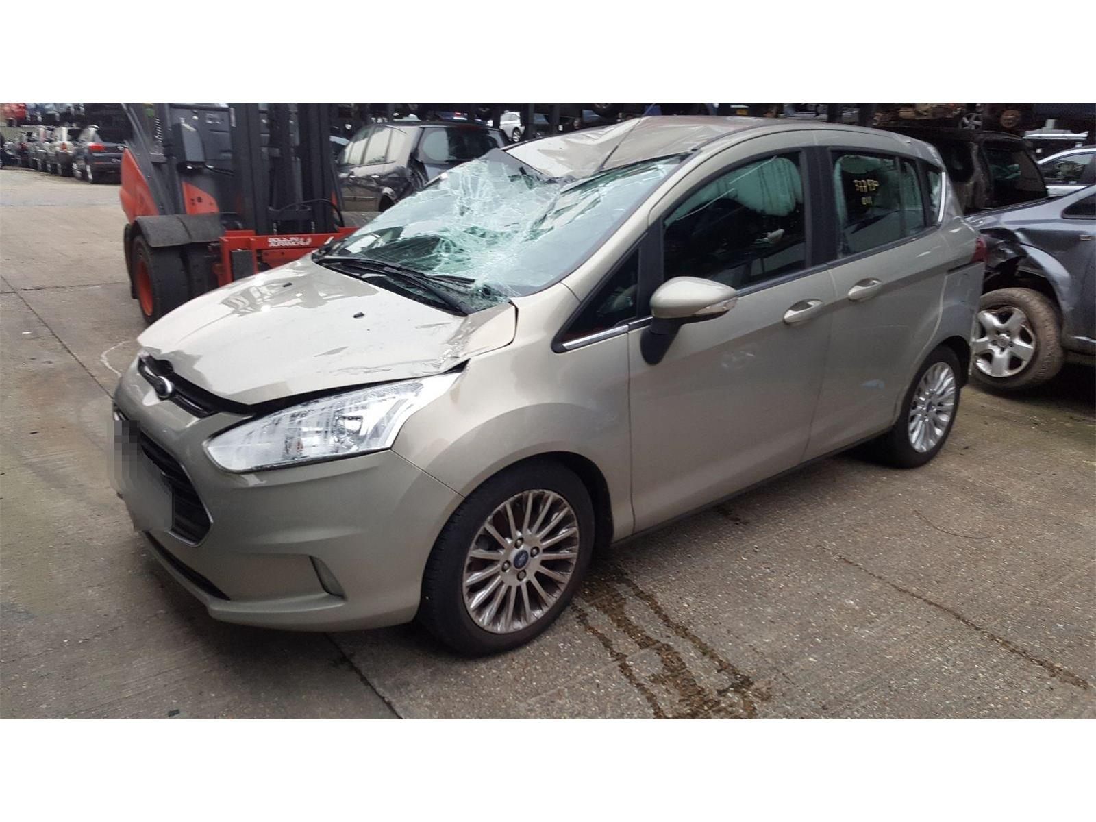 Ford B Max 2012 On Titanium Tdci Mpv Scrap Salvage Car For