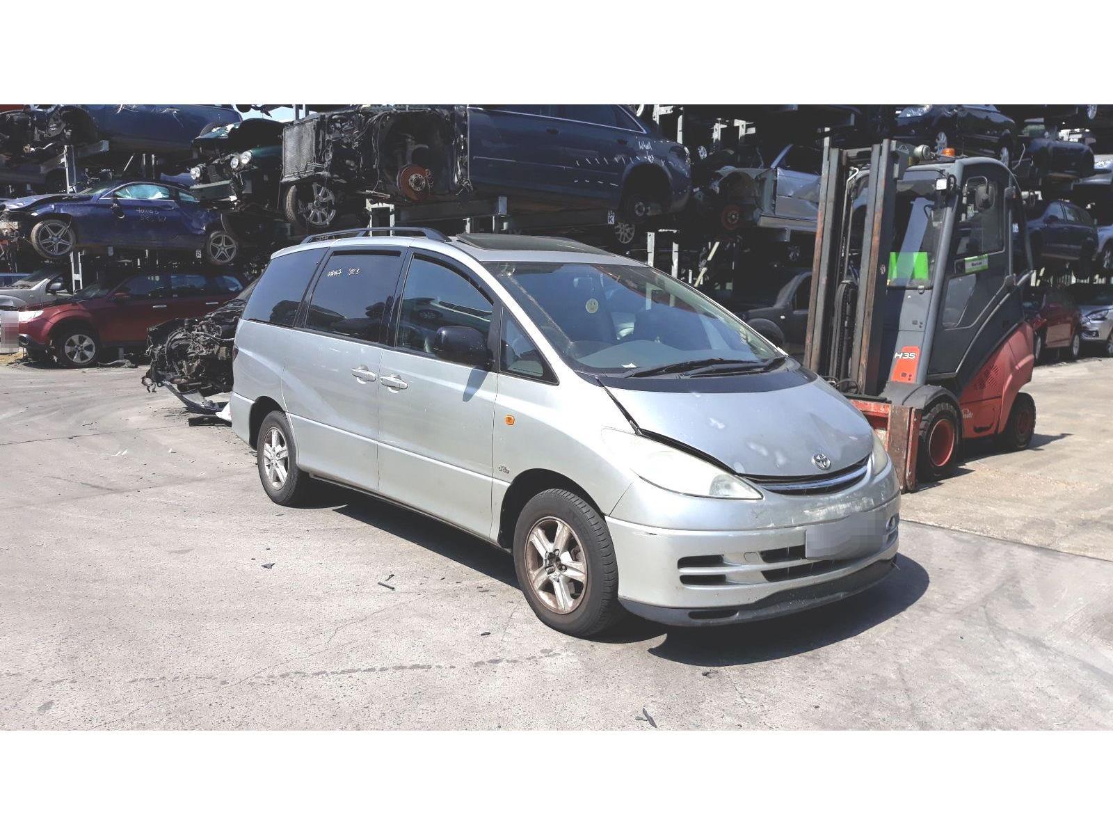 Toyota Previa 2001 To 2006 Cdx Mpv Scrap Salvage Car For Sale Estima Fuse Box Location Auction Silverlake Autoparts