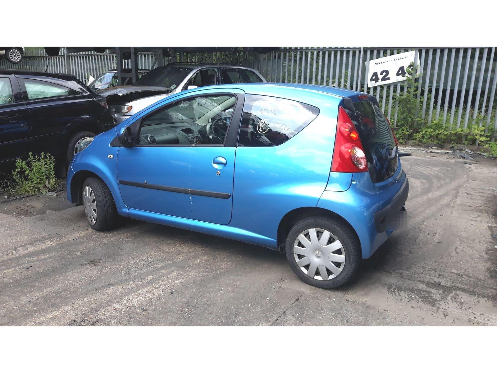 Peugeot 107 2005 To 2008 Urban 3 Door Hatchback Scrap Salvage Fuse Box On Car For Sale Auction Silverlake Autoparts