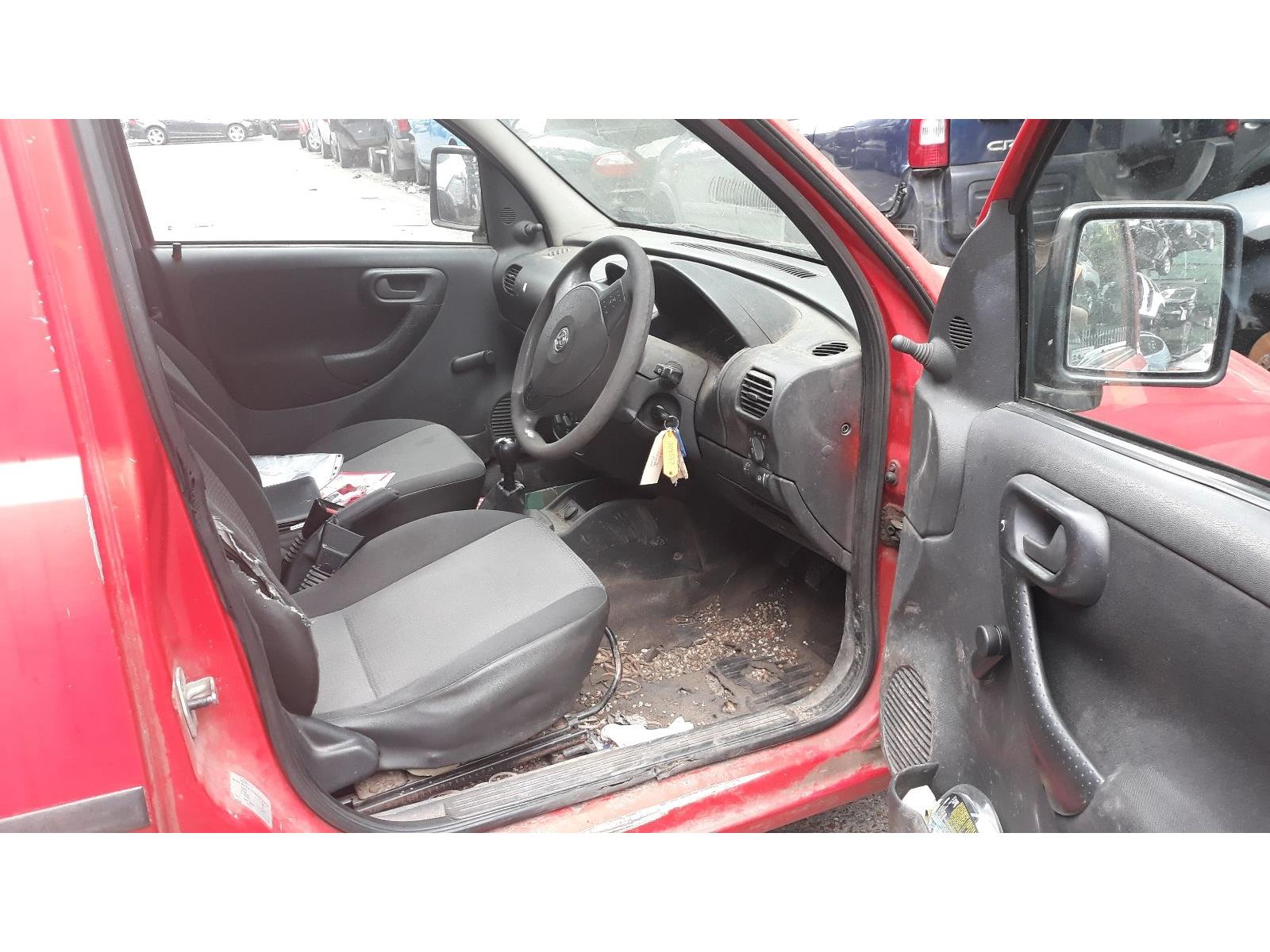 Vauxhall Combo 2001 To 2011 Cdti Lcv Scrap Salvage Car For Spares Sale Auction Silverlake Autoparts