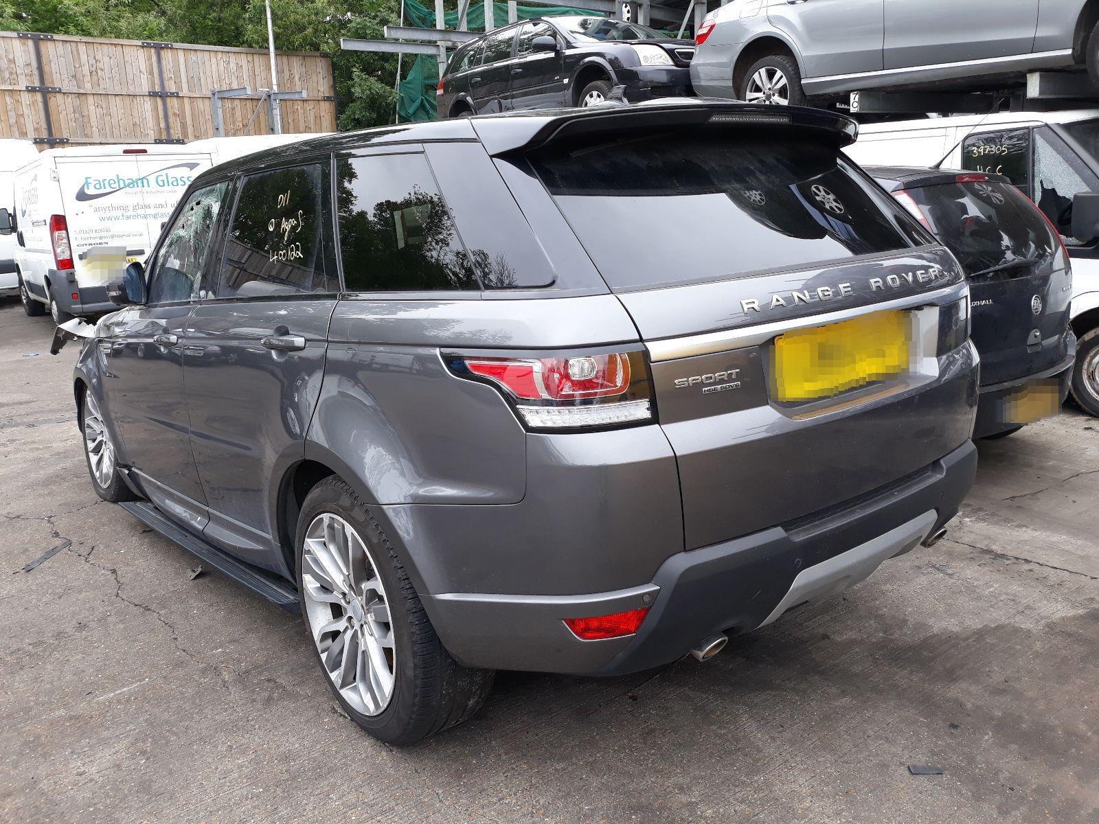 Land Rover Range Sport 2013 On Hse Sdv6 4wd 5 Door Estate Fuse Box Scrap Salvage Car For Sale Auction Silverlake Autoparts
