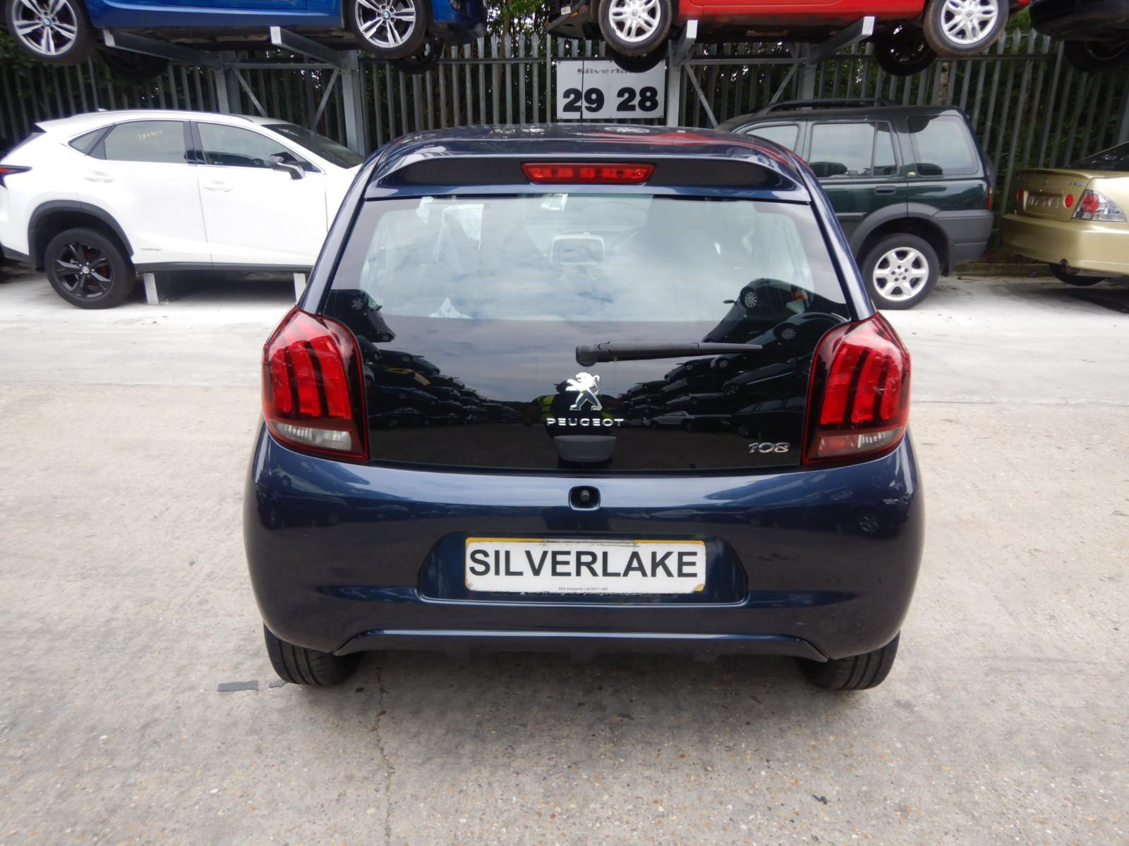 Peugeot 108 2014 On Active Vti 68 3 Door Hatchback Scrap Salvage 306 Fuse Box Brake Lights Car For Sale Auction Silverlake Autoparts