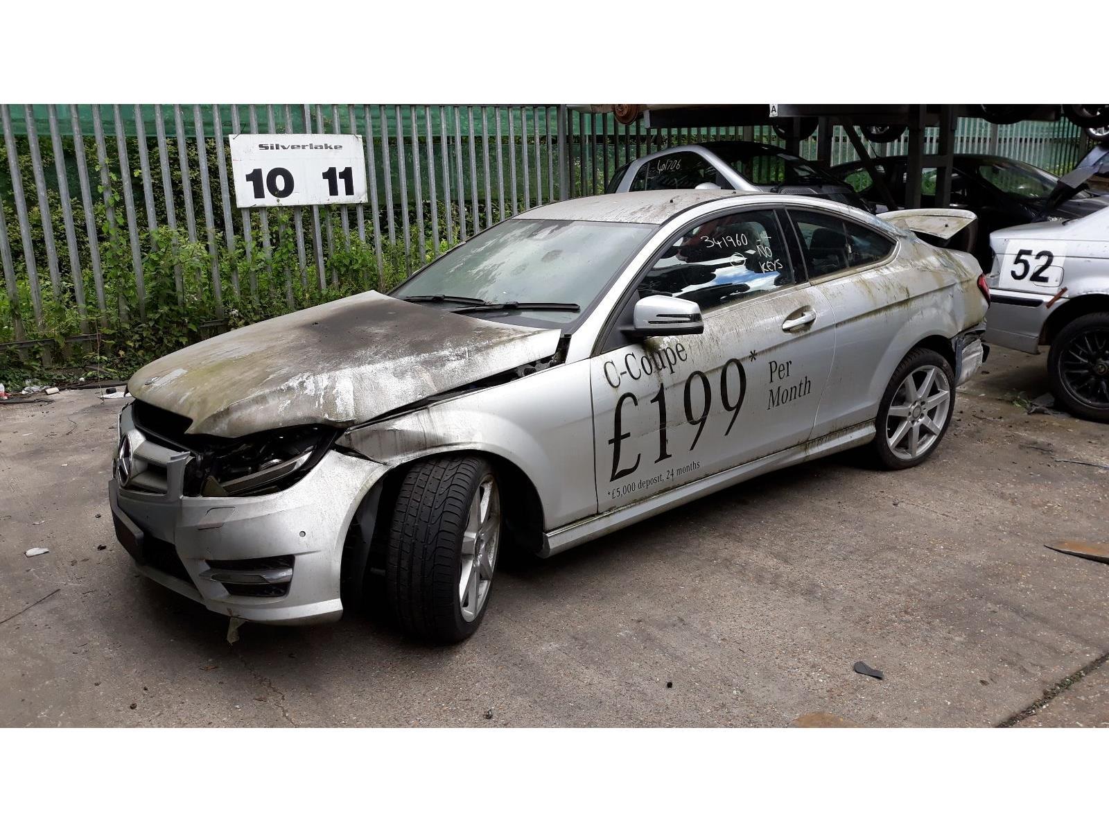 Mercedes-Benz C Class 2011 To 2015 C220 AMG Sport CDi BlueEfficiency 2 Door  Coupe