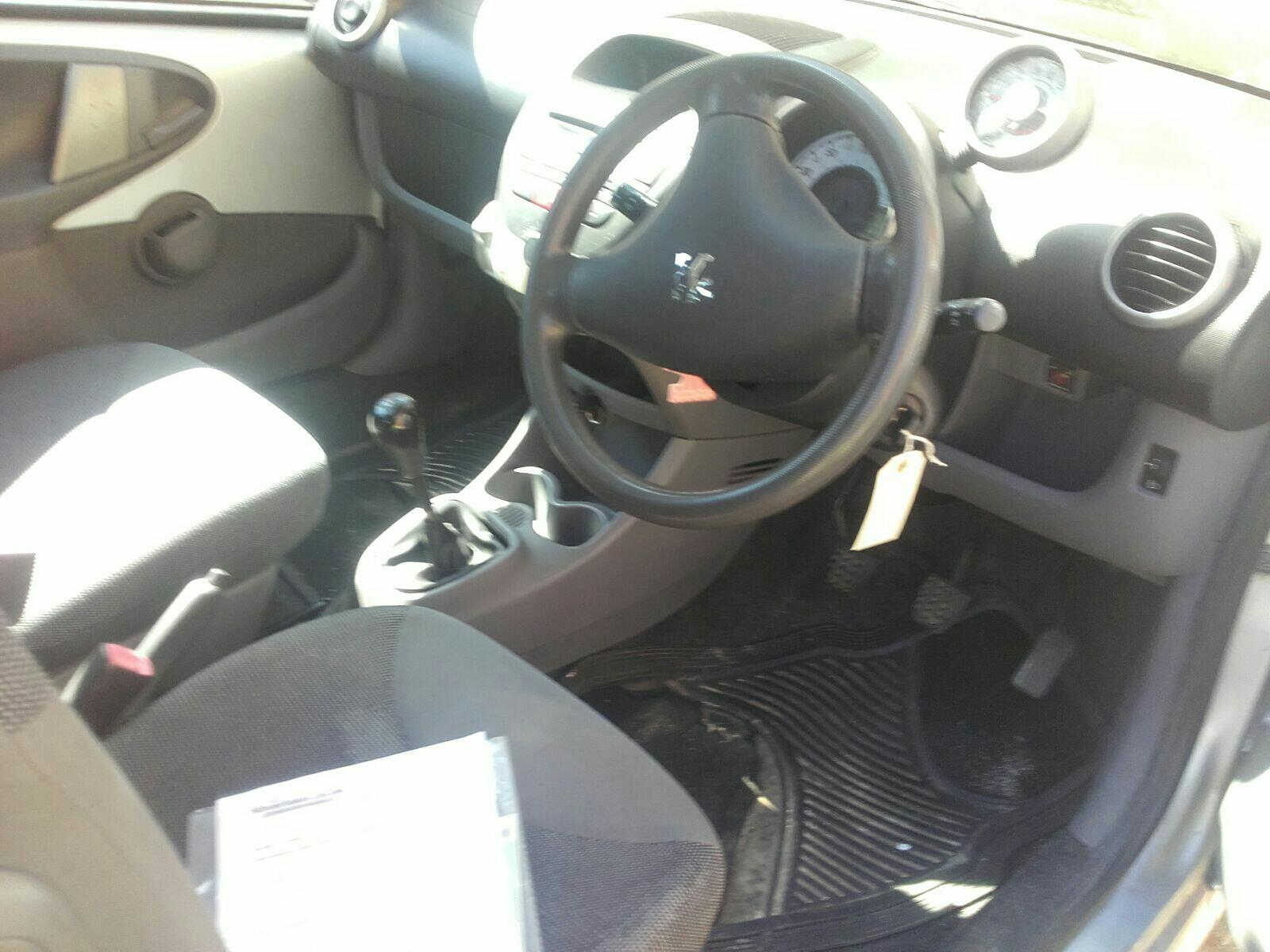 Peugeot 107 2005 To 2008 Urban 3 Door Hatchback / scrap / salvage car for  sale / auction | Silverlake Autoparts