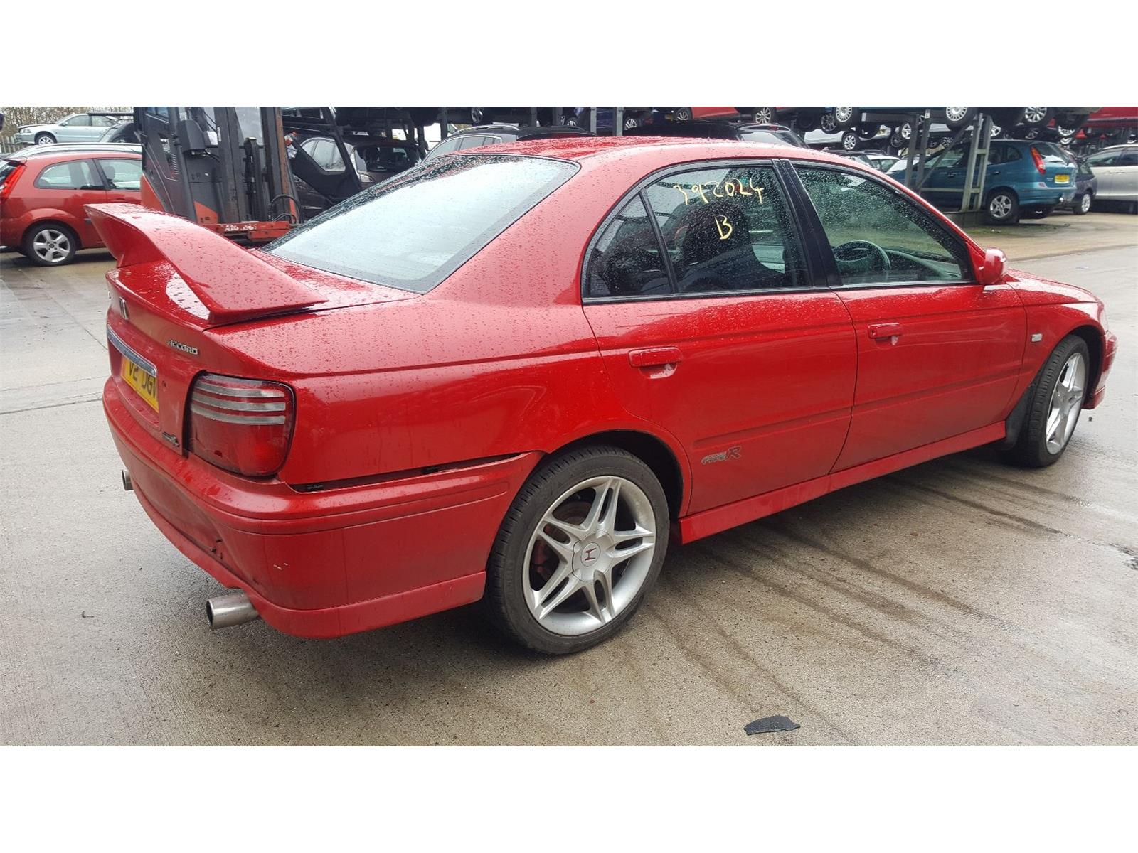Honda Accord 1998 To 1999 Type R 4 Door Saloon Scrap Salvage Car Year Ref