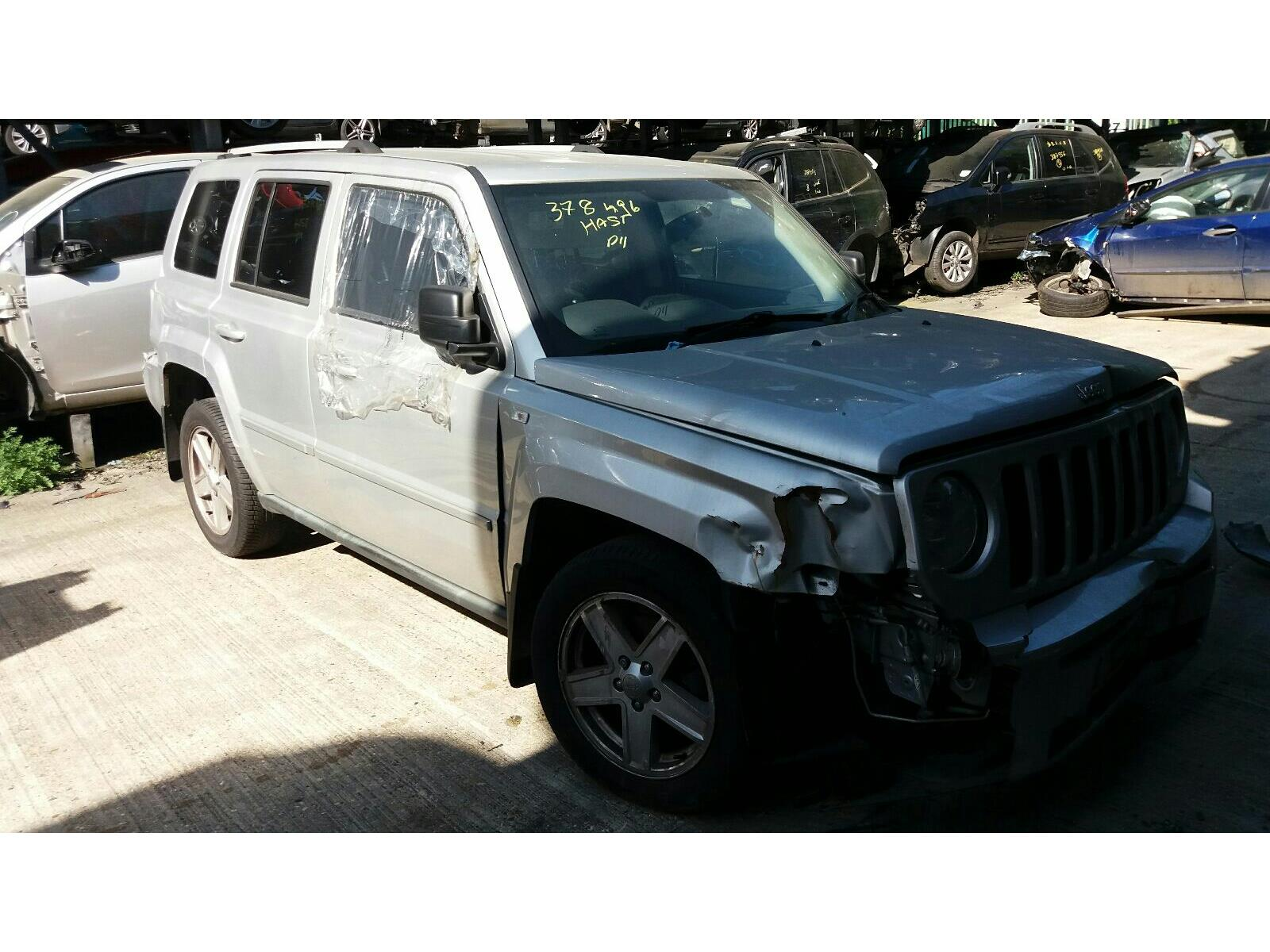 Jeep Patriot 2007 To 2011 Limited 5 Door 4x4 Scrap Salvage Car Fuel Filter For Sale Auction Silverlake Autoparts