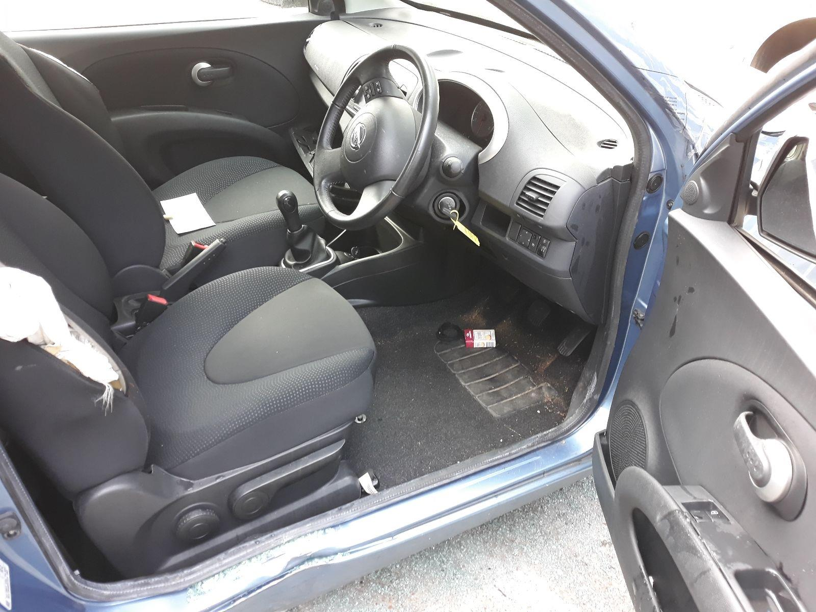 Nissan Micra 2007 To 2010 N-Tec 3 Door Hatchback / scrap / salvage car for  sale / auction | Silverlake Autoparts