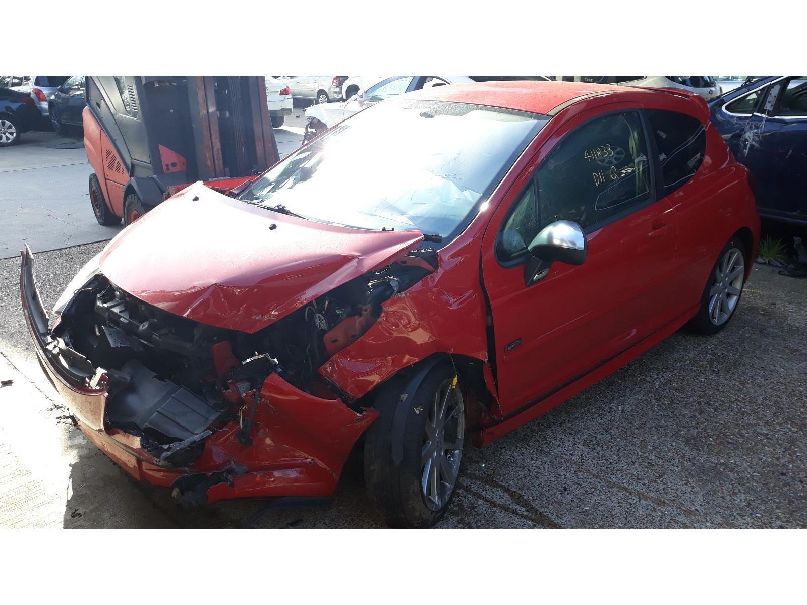 Peugeot 207 2006 To 2009 Gti Pack 3 Door Hatchback Scrap Salvage Under Bonnet Fuse Box Car For Sale Auction Silverlake Autoparts