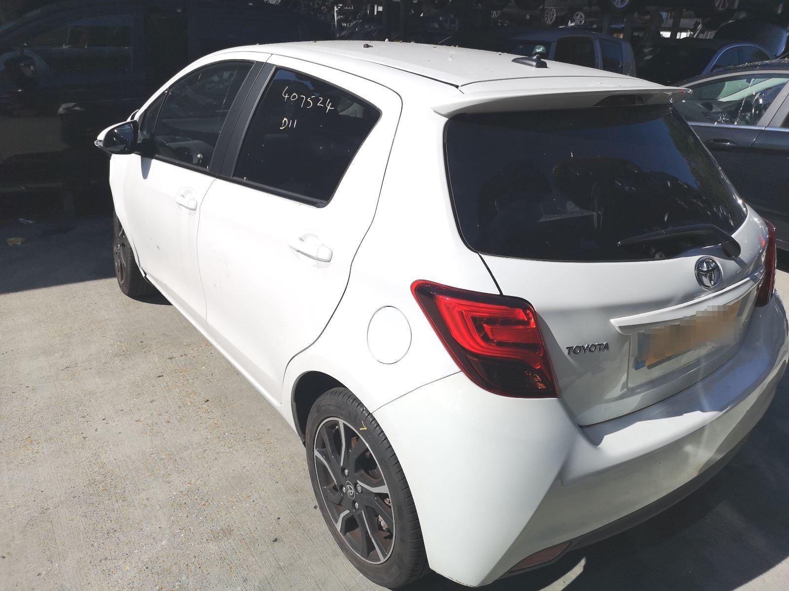 Toyota Yaris 2014 To 2017 Sport Vvt I 5 Door Hatchback Scrap Vitz Fuse Box Salvage Car For Sale Auction Silverlake Autoparts