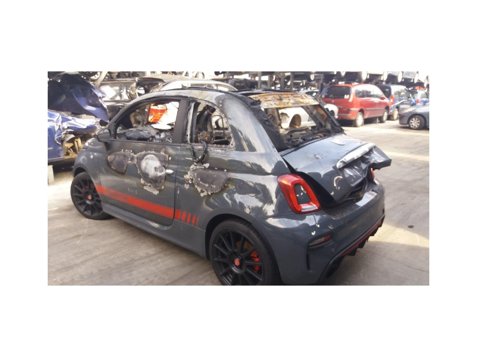 Fiat 500 Abarth 2016 On 695 Xsr Yamaha Limited Edition T Jet 2 Door Grande Punto Fuse Box Glove Compartment Cabriolet Scrap Salvage Car For Sale Auction Silverlake Autoparts