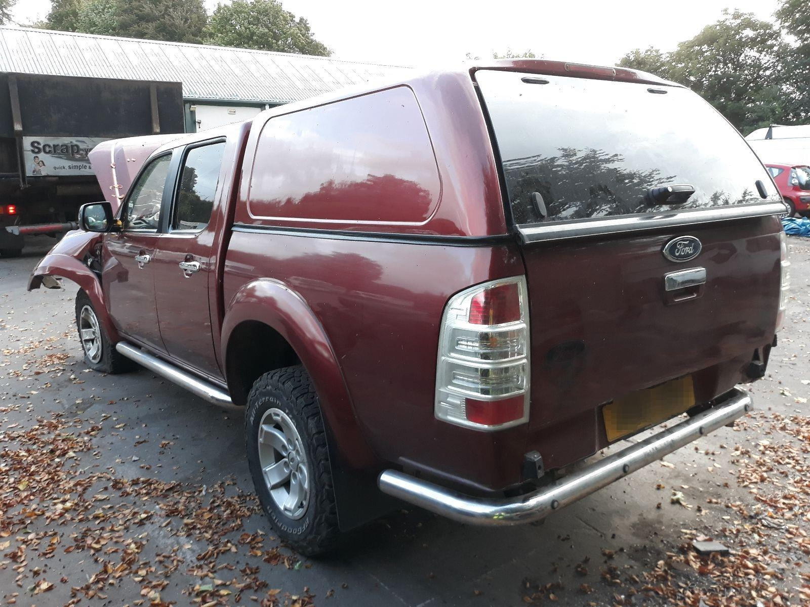 Ford Ranger 2010 To 2012 Double Cab XLT 4WD Pick-Up / scrap