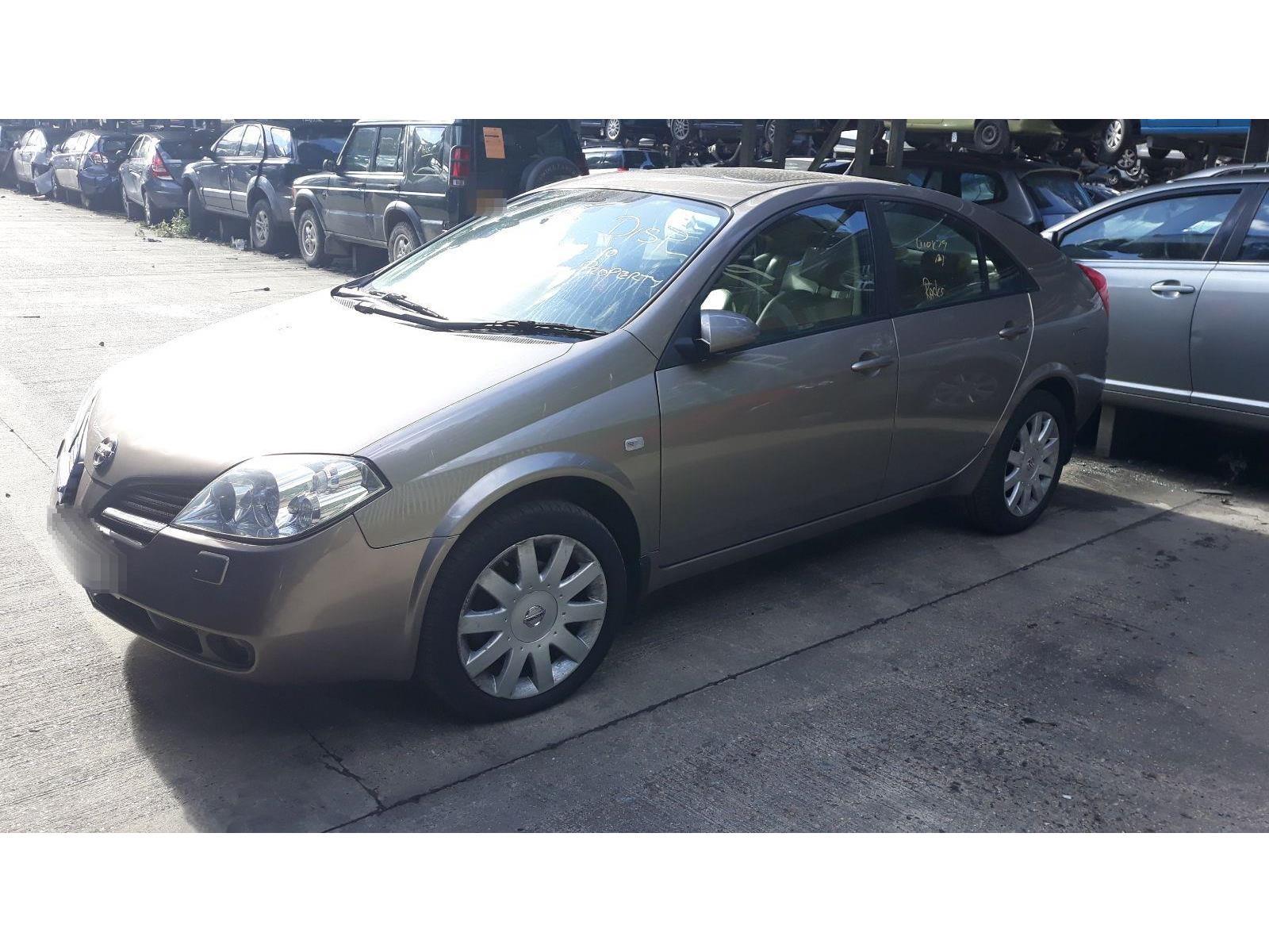 2004 Nissan Primera 2002 To 2007 T Spec 20l Automatic Petrol Beige Car Fuse Box Replacement