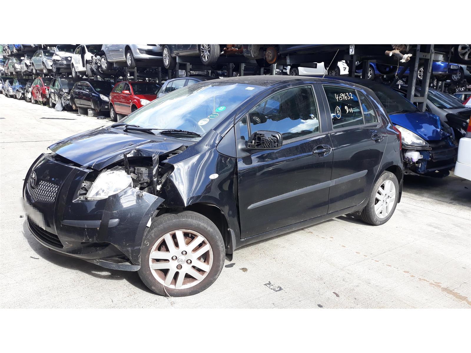2007 Toyota Yaris 2006 To 2011 Tr Vvt I 13l Manual Petrol Black Car Vitz Fuse Box Seat Belt Front Reel Rh
