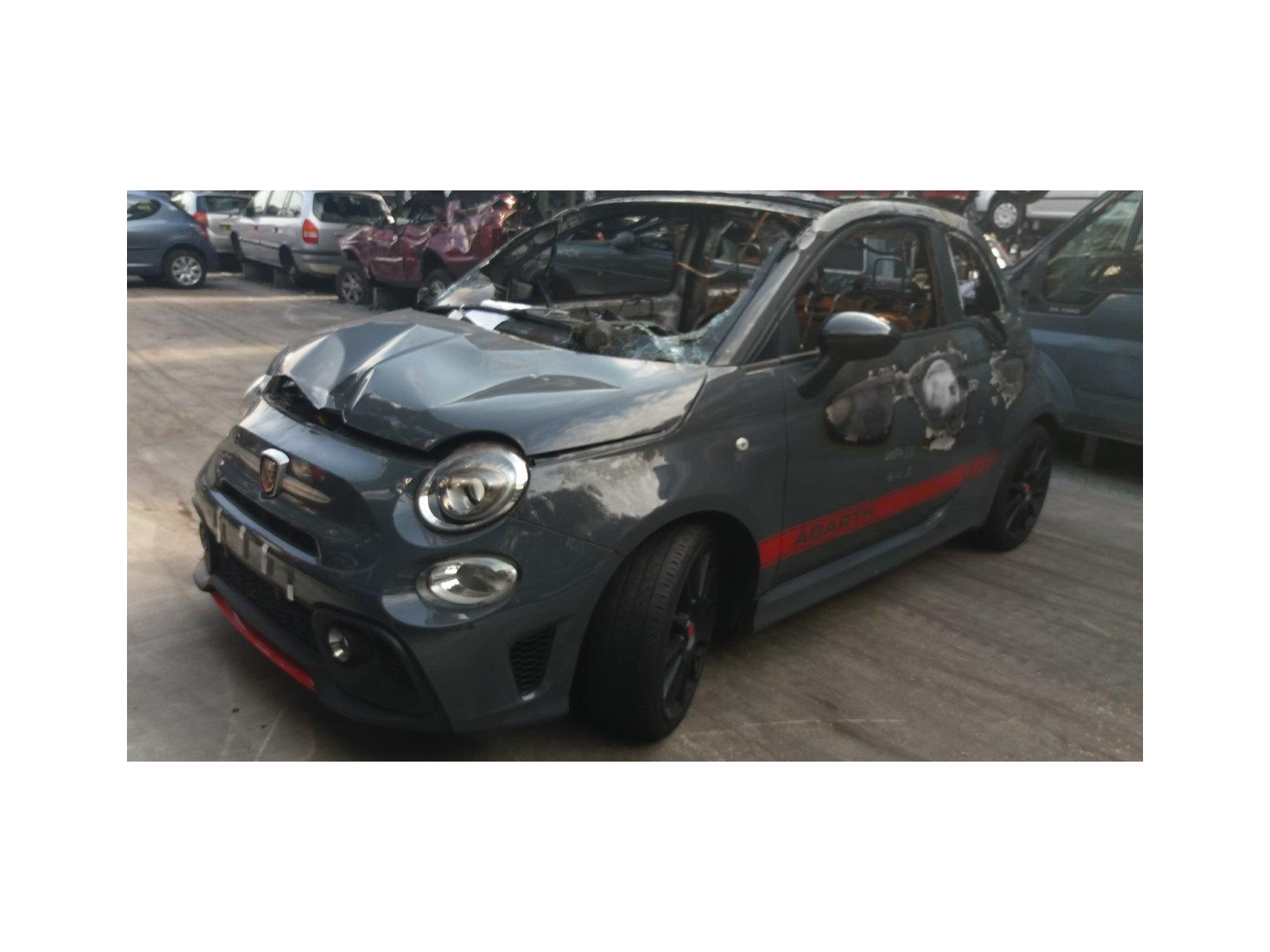 Fiat 500 Abarth 2016 On 695 XSR Yamaha Limited Edition T-Jet 2 Door  Cabriolet / scrap / salvage car for sale / auction | Silverlake Autoparts