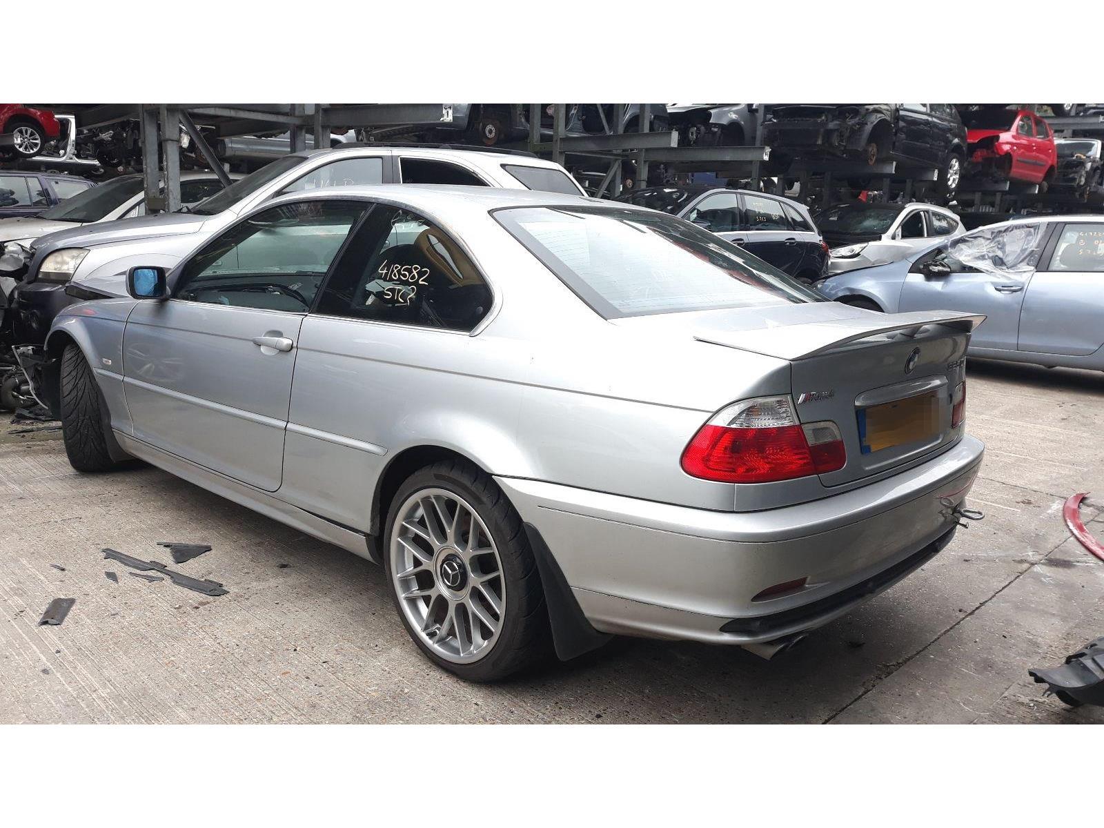 2001 Bmw 3 Series 1998 To 2005 325 Ci 2 5l Manual Petrol