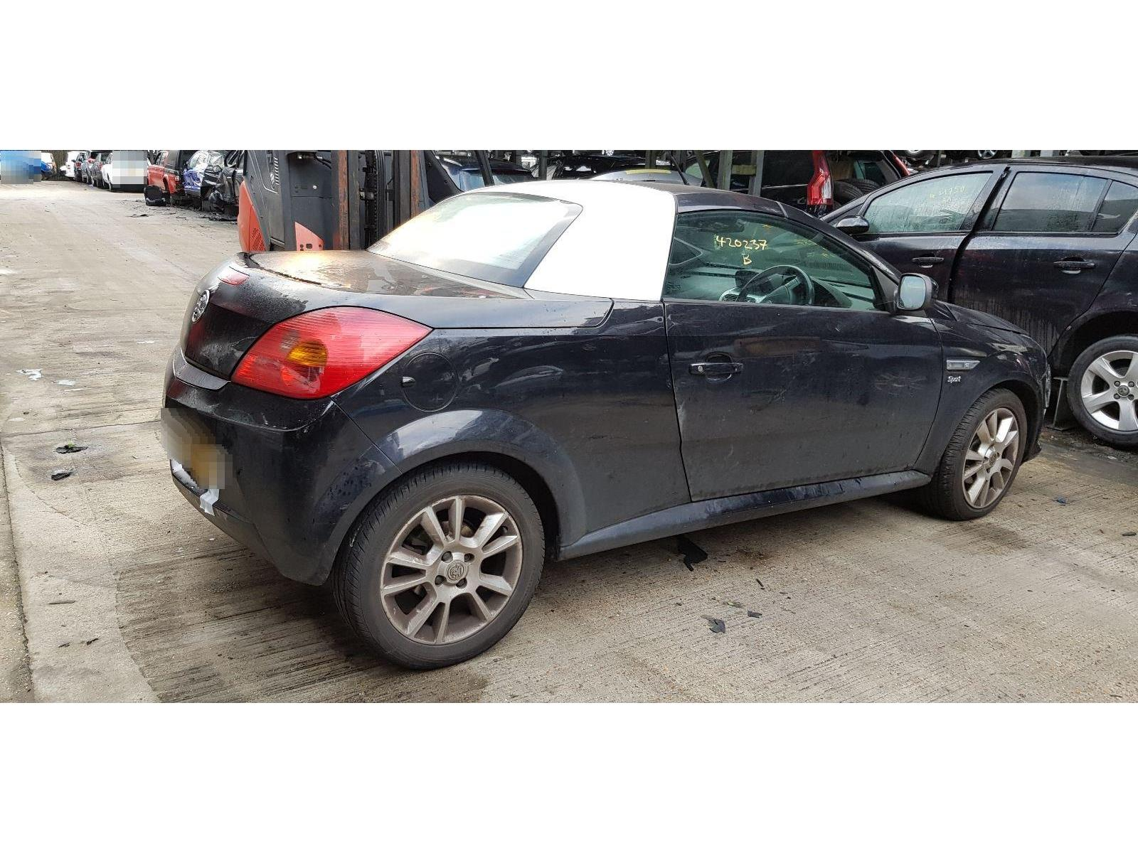 vauxhall tigra 2005 to 2009 sport 2 door cabriolet / scrap / salvage car  for sale / auction | silverlake autoparts