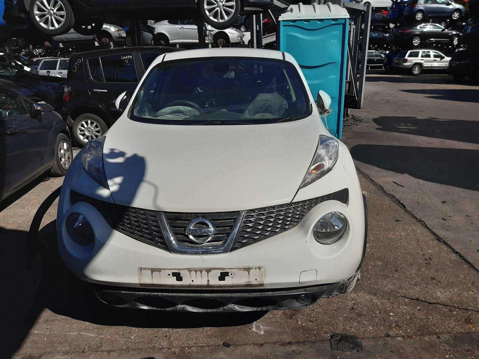 2013 Nissan Juke 2011 To 2014 Tekna 1.6l CVT Petrol WHITE ... on