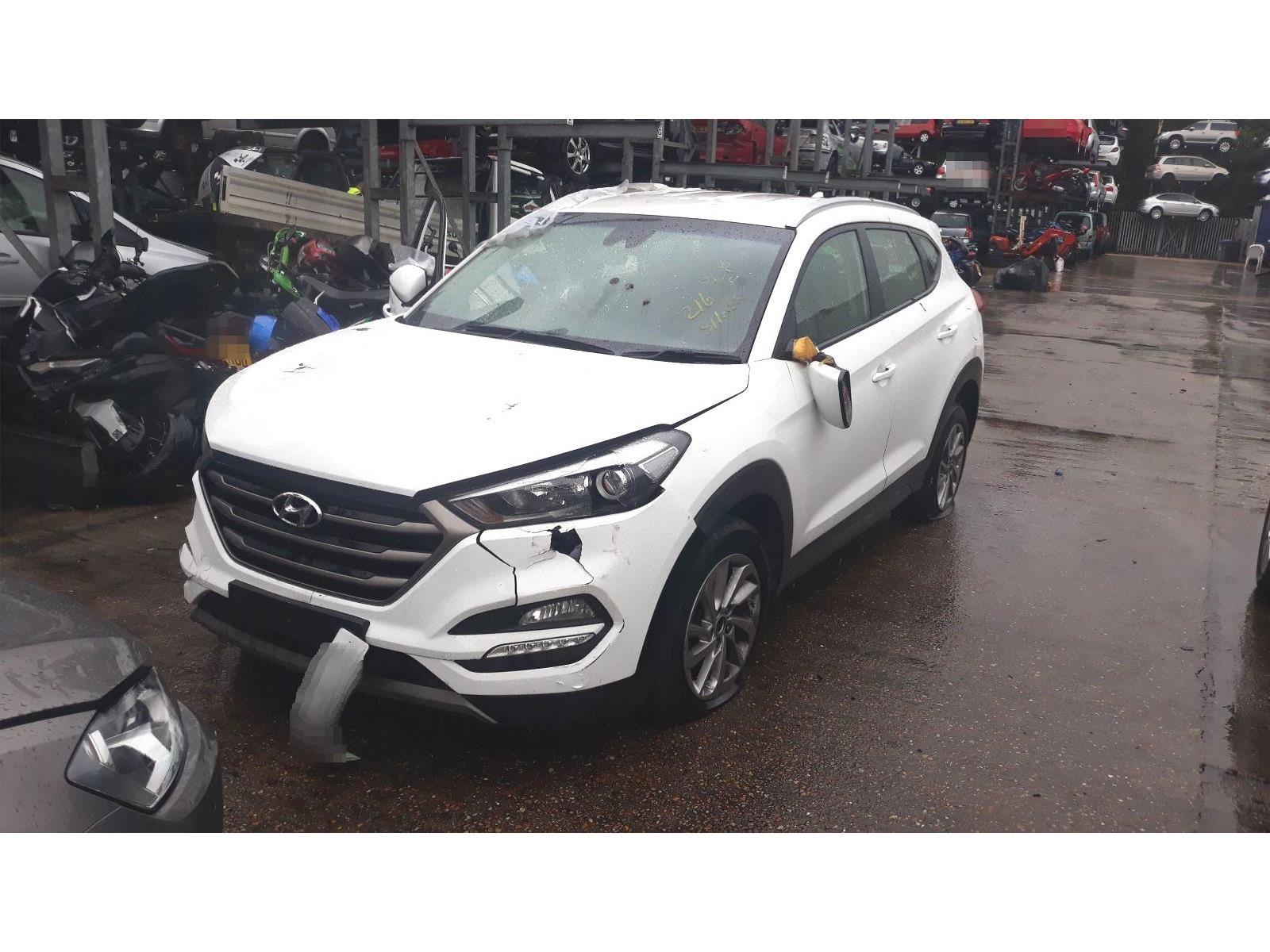 Hyundai Tucson 2015 On Se Nav Crdi 5 Door Suv Scrap Salvage Car For Sale Auction Silverlake Autoparts
