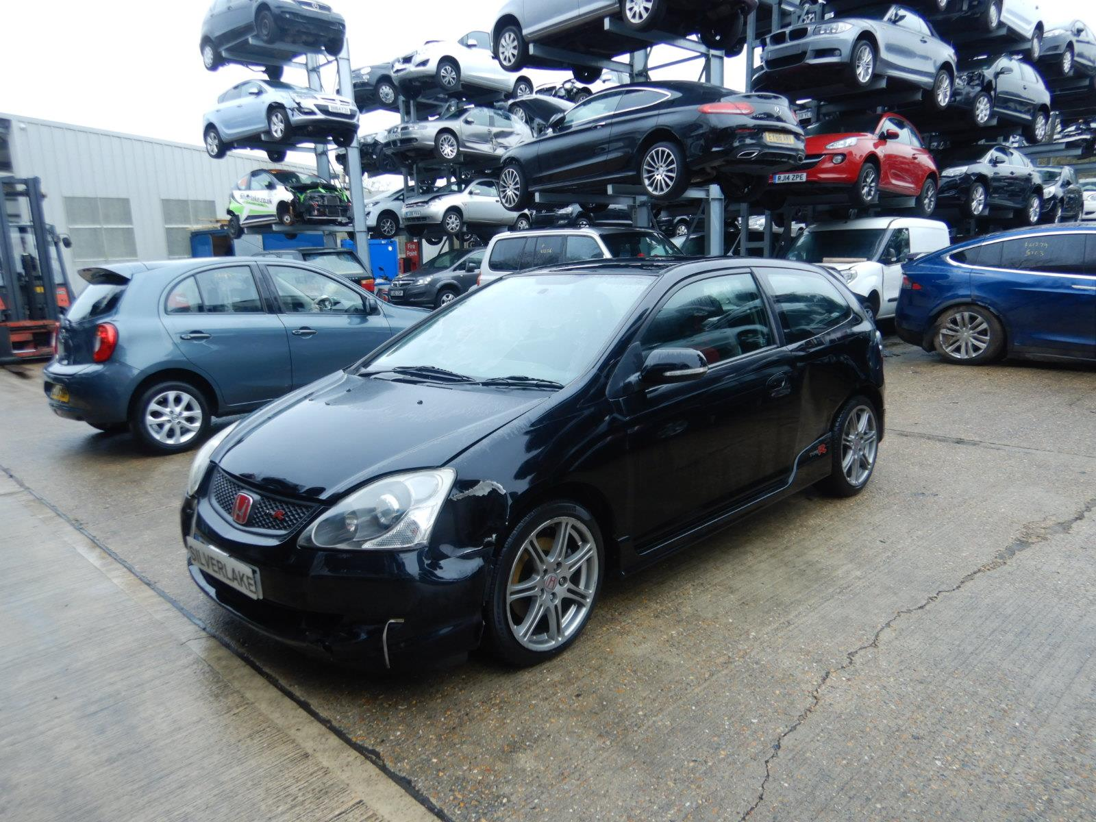 Honda Civic 2001 To 2004 Type R 3 Door Hatchback